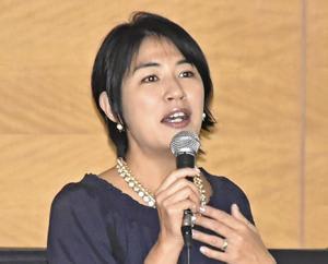 ダウン症に理解を タレント奥山佳恵さん、郡山・人権週間講演会