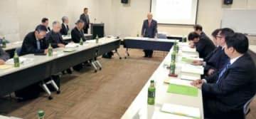 信夫山再生推進委が初会合 来月29日市民シンポ