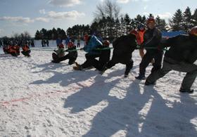 あつま国際雪上3本引き大会の参加チーム募集