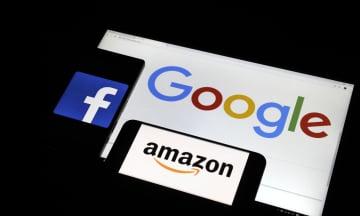 グーグル、フェイスブックなど「プラットフォーマー」のロゴマーク