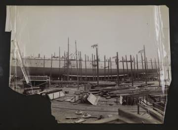 甲午海戦の戦没艦「致遠」の設計図、英国で百年ぶりに見つかる