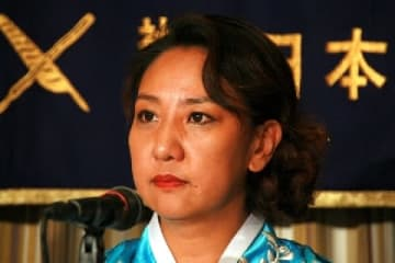 李信恵さん(2014年9月撮影)