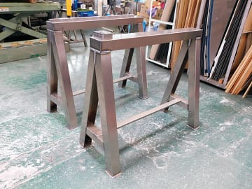光メタルセンター/チタン製作業用冶具を開発