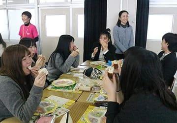 朝食と減塩の大切さ学ぶ 高岡第一学園で食育講座