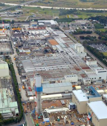 神戸製鋼所の真岡製造所=栃木県真岡市