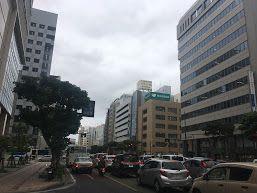 沖縄地方はどんよりとした天気が続いています
