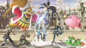 「大乱闘スマッシュブラザーズ SPECIAL」のゲーム画面