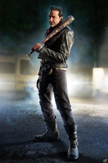 「鉄拳7」ウォーキング・デッドよりプレイアブル化される「ニーガン」の最新情報とキャラクターPVが公開!