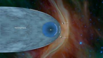 ボイジャー1号・2号の星間ミッション(C)NASA / JPL-Caltech
