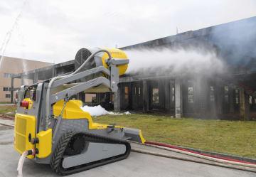 福建省福鼎市に消防ロボット納入 省内で最大規模