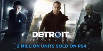 PS4向けADV『Detroit: Become Human』が世界累計実売200万本突破!