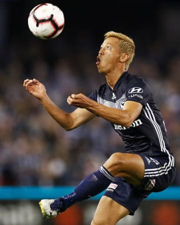 Soccer: Honda named Player of Month in Australia's A-League