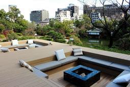 新設された檜テラス=神戸市中央区中山手通5、THE SORAKUEN