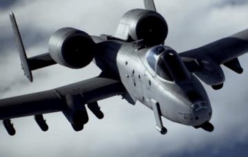 『エースコンバット7』機体紹介トレイラー第5弾「A-10C」!GAU-8の咆哮や対空ロケランが光る