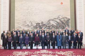 習近平主席、中国経済の成長に確固たる自信 「2018従都国際フォーラム」海外出席者と会見