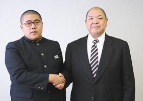 室蘭相撲少年団出身・福井さんが八角部屋に入門