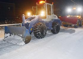 胆振地方師走の雪景色…スリップ事故が多発