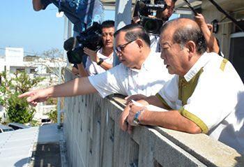 米軍部品落下事故の風化防止イベント 宜野湾市、後援せず 市長「政治的懸念」