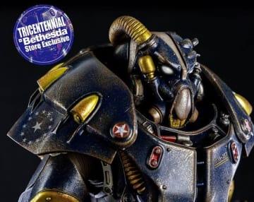 『Fallout』の「X-01 パワーアーマー」フィギュアにベゼスダ・ストア限定カラーが登場!