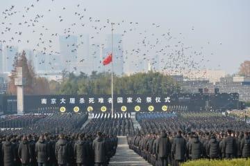 中国で南京大虐殺犠牲者国家公祭儀式