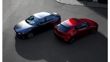 新型Mazda3(画像: マツダの発表資料より)