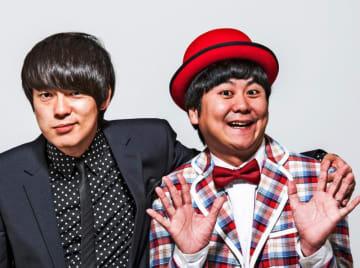 ウーマンラッシュアワーの村本大輔さん(左)と中川パラダイスさん(吉本興業株式会社提供)