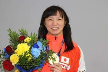 U23世界選手権優勝の川井友香子(至学館大)