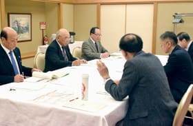 胆振東部地震発生時の対応で意見交換する3市の町内会・自治会関係者