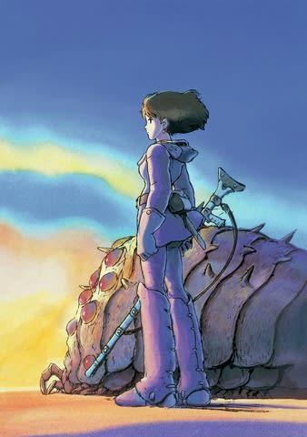 「金曜ロードSHOW!」で2019年1月4日に放送される「風の谷のナウシカ」のビジュアル (C)1984 Studio Ghibli・H