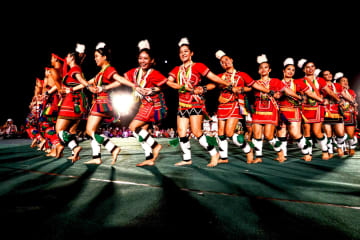 アミ族の伝統的なダンス