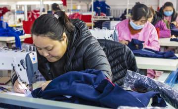「貧困扶助工房」で貧困脱却を後押し 河北省武邑県
