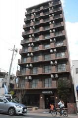 福山にマンション再利用のホテル