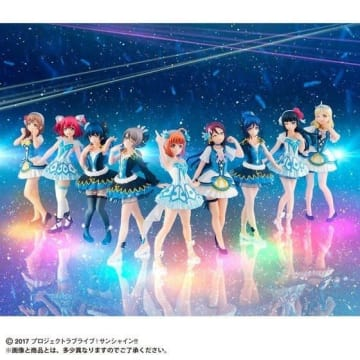 「Gasha Portraits ラブライブ!サンシャイン!! ~WATER BLUE NEW WORLD SET~」12,960円(税込)(C)2017 プロジェクトラブライブ!サンシャイン!!