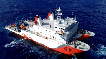 第2世代「彩虹魚」深海探査機、1万メートル級潜水試験に成功