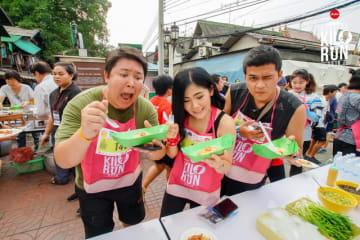 観光名所を走ってご当地グルメを堪能する「キロラン」がベトナムで開催