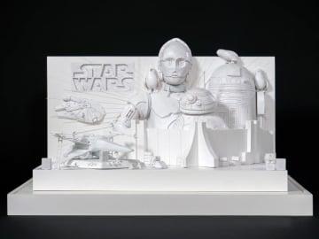 雪のXウイングに乗れる! 体感型大雪像「白いスター・ウォーズ2019」模型 - (C) 2018 Lucasfilm Ltd. All Rights Reserved.