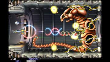 PS4版「R-Type Dimensions EX」のゲーム画面