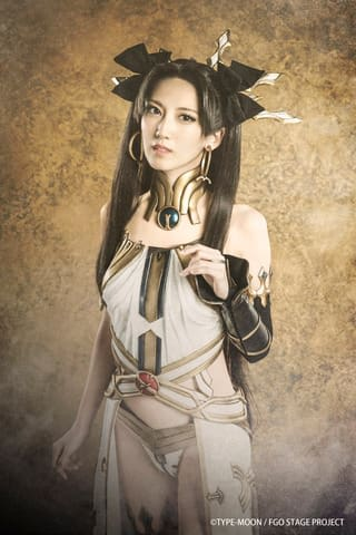 舞台「Fate/Grand Order THE STAGE -絶対魔獣戦線バビロニア-」に登場するイシュタルのビジュアル(C)TYPE-MOON/FGO STAGE PROJECT