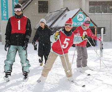 姉妹都市・沖縄の小学生と米沢で交流 スキー体験も