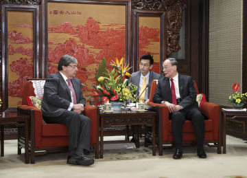 王岐山氏、コロンビア外相と会見 各国の自主的選択の道尊重