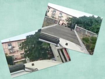 市の重要文化財で驚きの騒動、男性が車で階段上る―中国