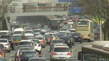 中国、米国車の報復関税停止 1月から3カ月間
