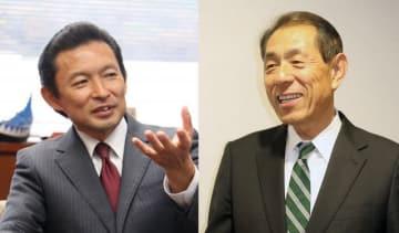 (左)平井竜一氏、(右)桐ケ谷覚氏