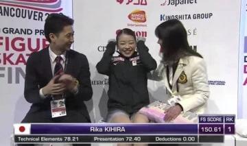 「新女王誕生!」「低迷の日本フィギュア界が興奮のるつぼに」、GPファイナル優勝の紀平梨花に中韓メディアも注目