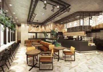 19日に開業する「エッグスンシングスコーヒー高崎オーパ店」のイメージ(エッグスンシングスジャパン提供)
