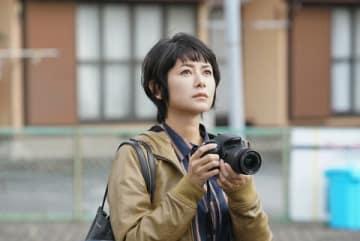 ドラマ「炎上弁護人」で主人公の弁護士・渡会美帆を演じる真木よう子さん (C)NHK