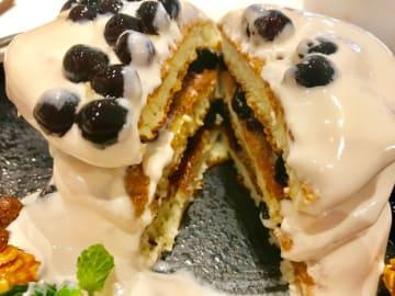 タピオカミルクティーパンケーキにはまりそう!【台湾・冰果甜心Bingirl】