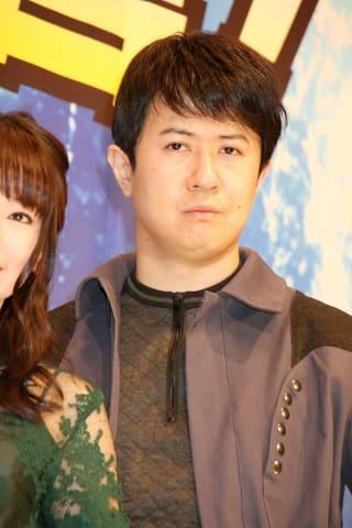 劇場版アニメ「ドラゴンボール超 ブロリー」の公開記念舞台あいさつに登場した杉田智和さん