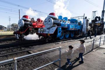 きかんしゃトーマス、大井川鐵道でクリスマスの限定運行