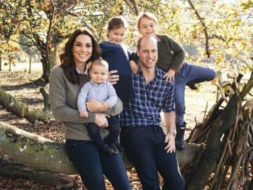 英 왕실, 왕자 가족 사진 공개